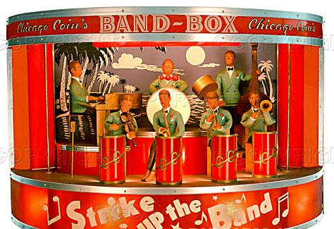 Chicago Coin Band Box Chicago Coin Bandbox Coin Operated