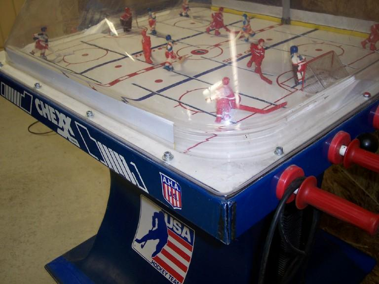 Chexx Hockey Super Chexx Hockey ICE domed bubble hockey history ...