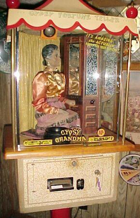 1957 Genco Gypsy Grandma Fortune Teller Collector Buying