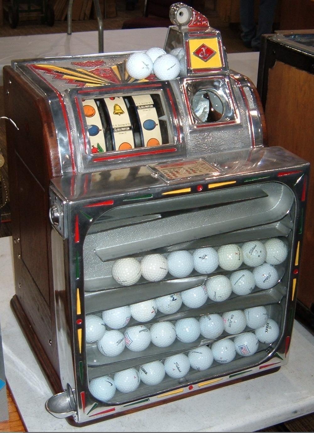 golf slot machine