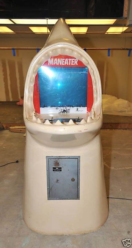 Project Support Engineering Maneater Coin Operated Arcade