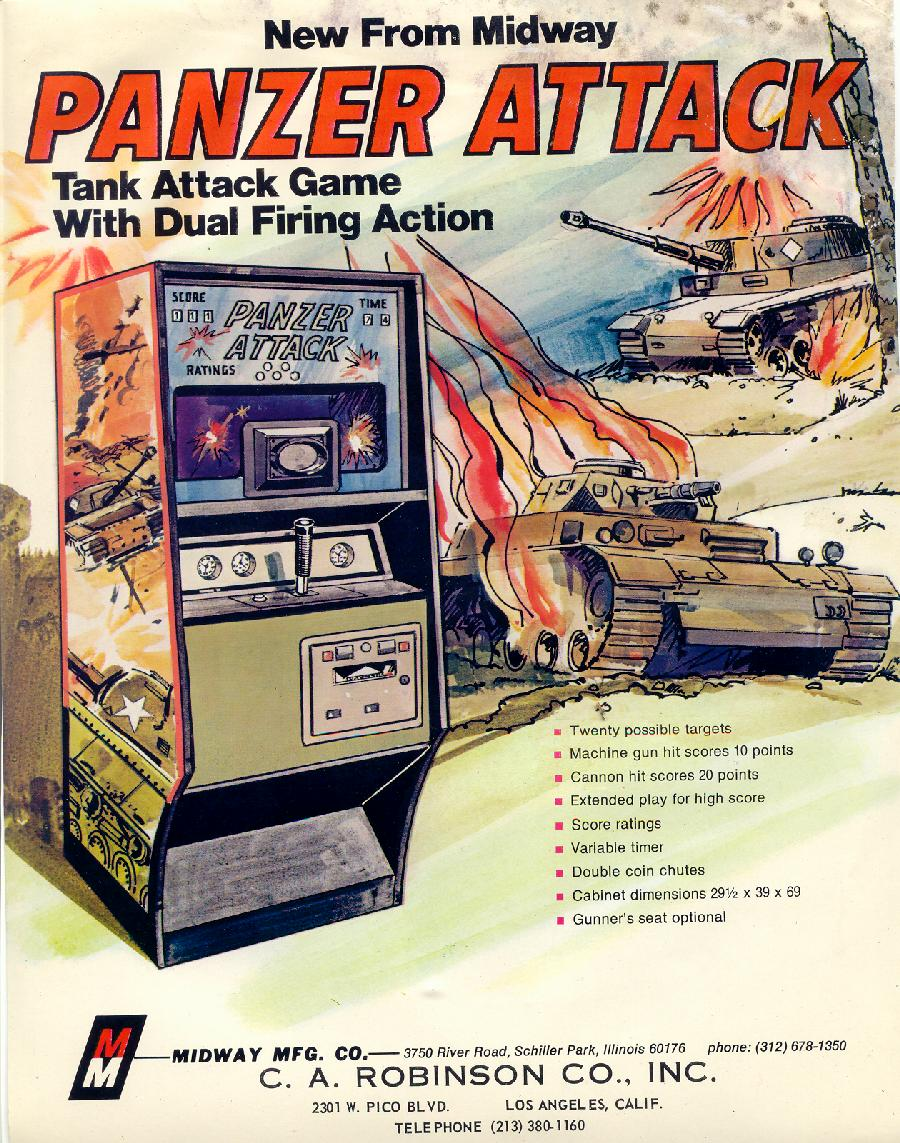 panzer attack game