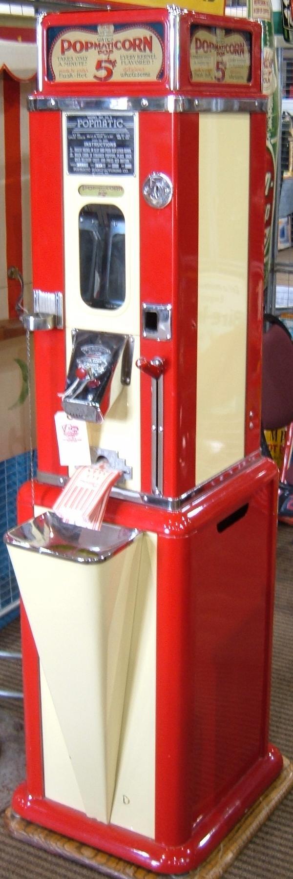 Popcorn Machines Minit Pop U It Popmaticorn Shop For Machine Wiring Diagrams O Matic Corn Coin Operated
