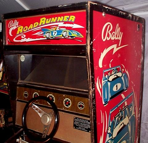 1971 Bally Road Runner Arcade Driving Coin Operated Game