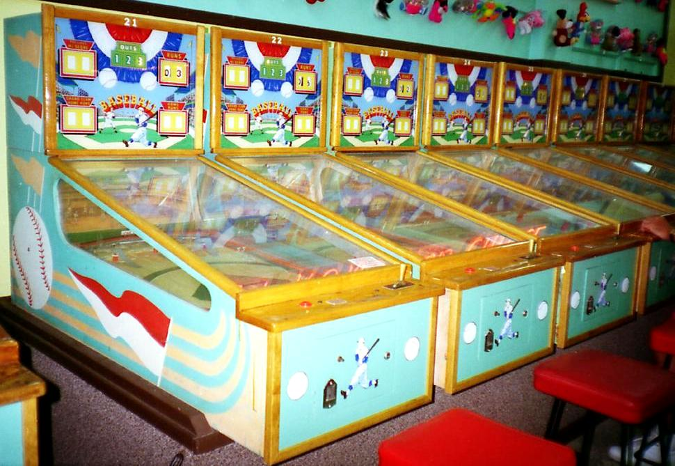 Old Penny Arcade Coin Operated Game Location Pictures