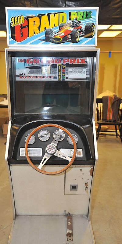 Car Arcade Games From The S