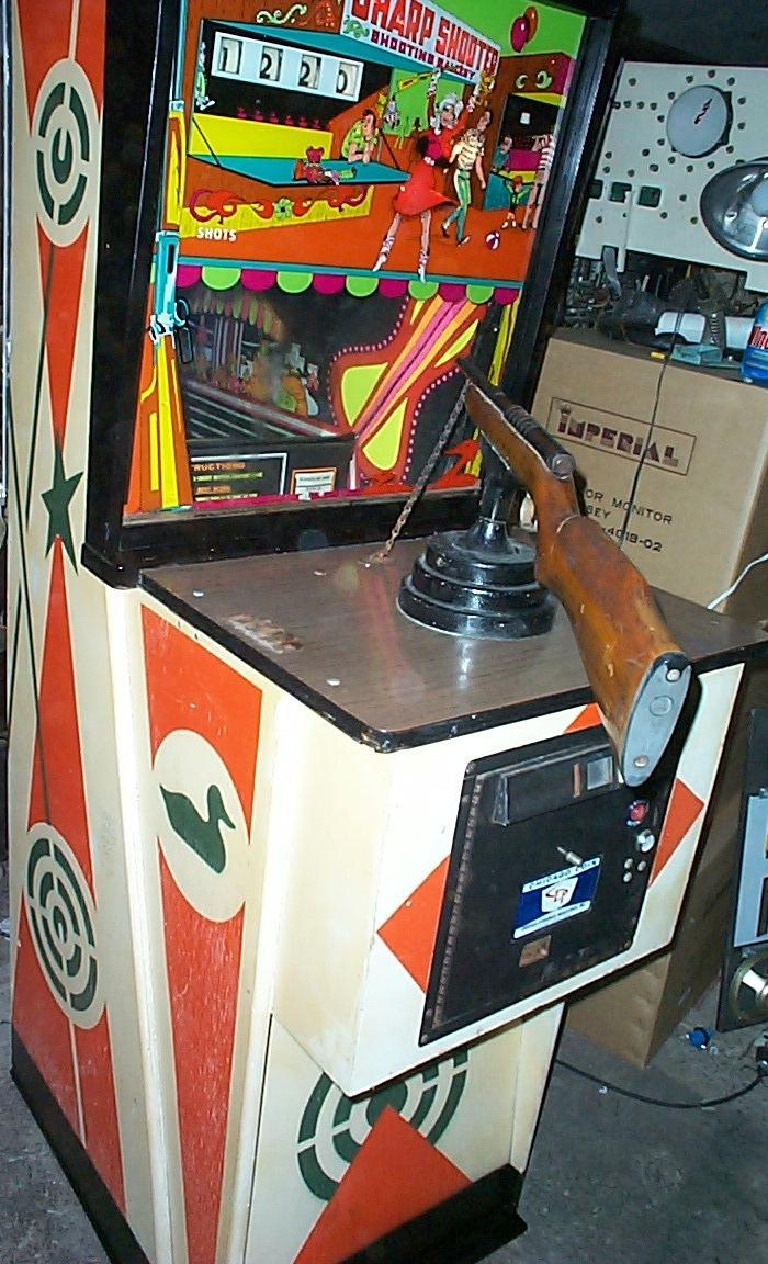 1971 Chicago Coin Sharp Shooter Sharpshooter Coin Operated
