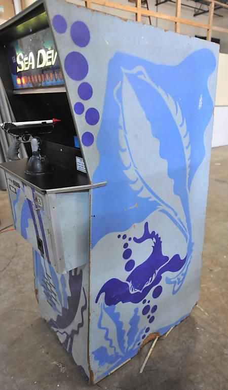 1972 Sega Sea Devil Coin Operated Arcade Game
