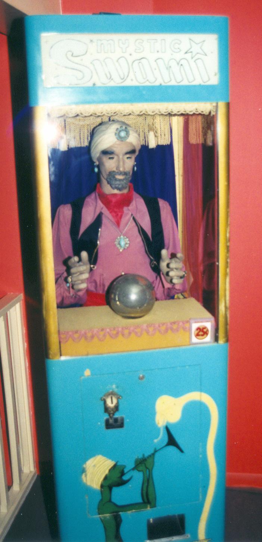 International Mutoscope Mystic Swami 1954 Fortune Teller