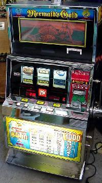 Trademark Poker Cherry Bonus Slot Machine Bank with