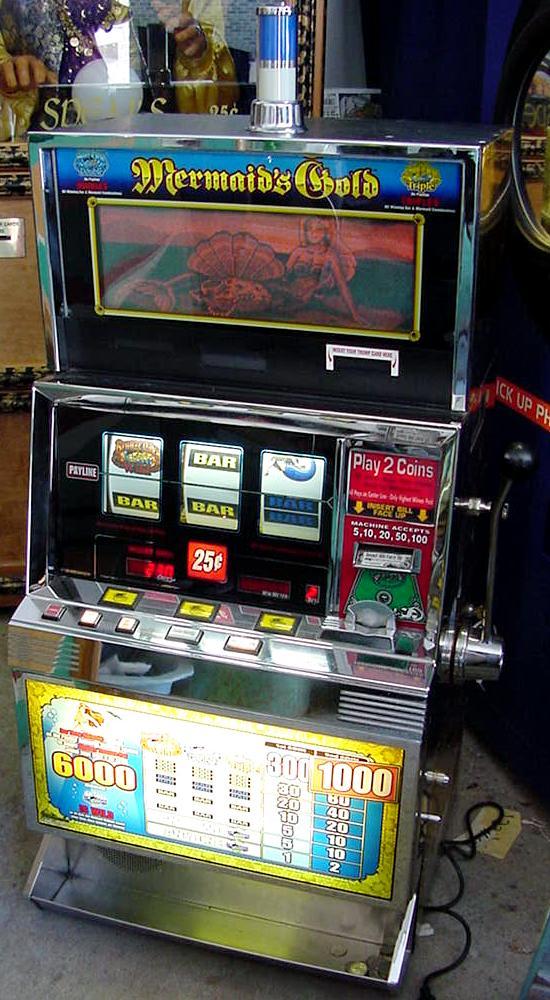 mermaid slot machine for sale
