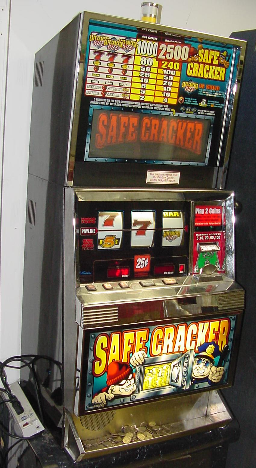 Safecracker slot