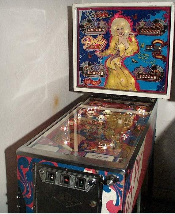 Bally Dolly Parton Pinball Machine Collector Buying