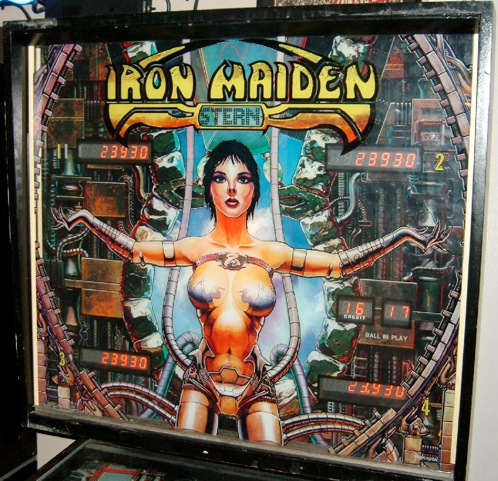 Stern Iron Maiden pinball machine - collector buying