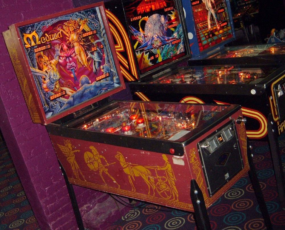 Bally Medusa Pinball Machine Collector Buying