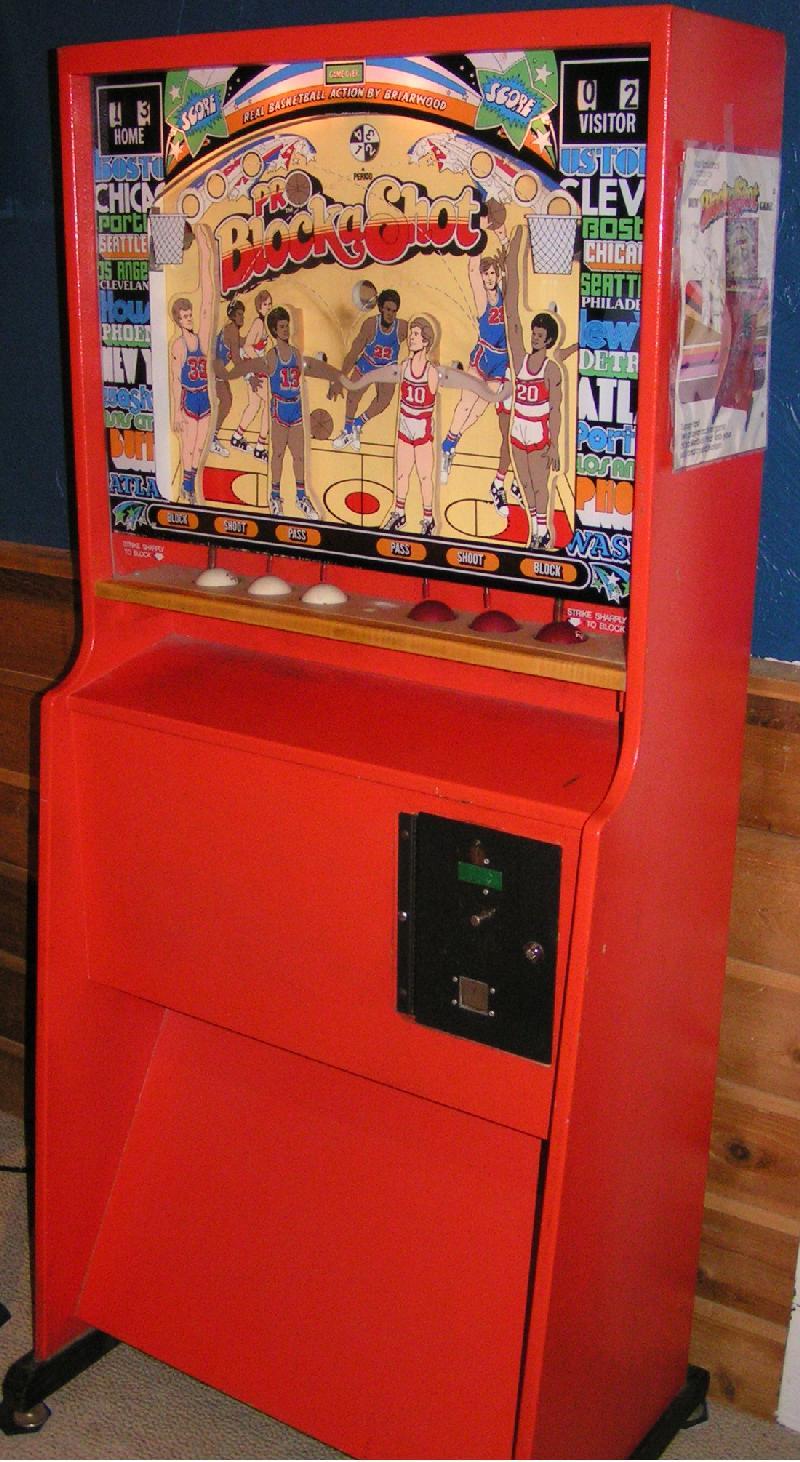 Briarwood Pro Block A Shot Basketball 1976 Arcade Game