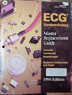 ECG Cross Reference, guia de reemplazo transistores