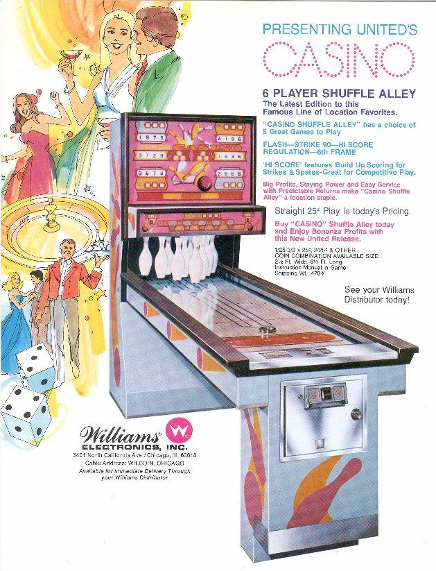 Collectibles KING TUT 1979 Williams Shuffle Alley Service Manual ...