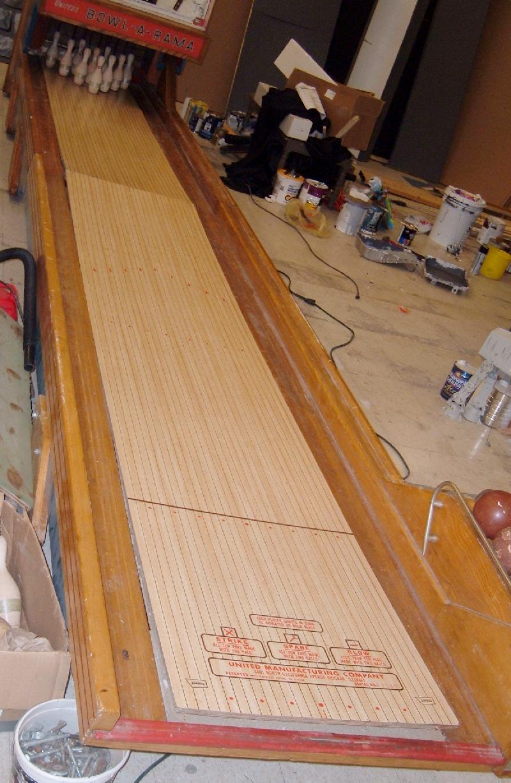 bowling lane wood  eBay