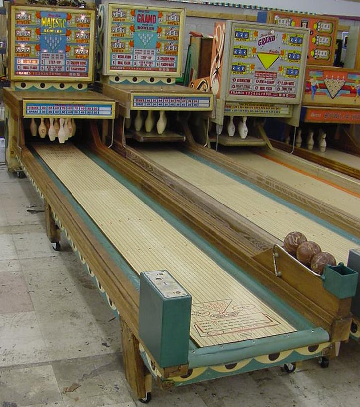 chicago coin bowling machine for sale