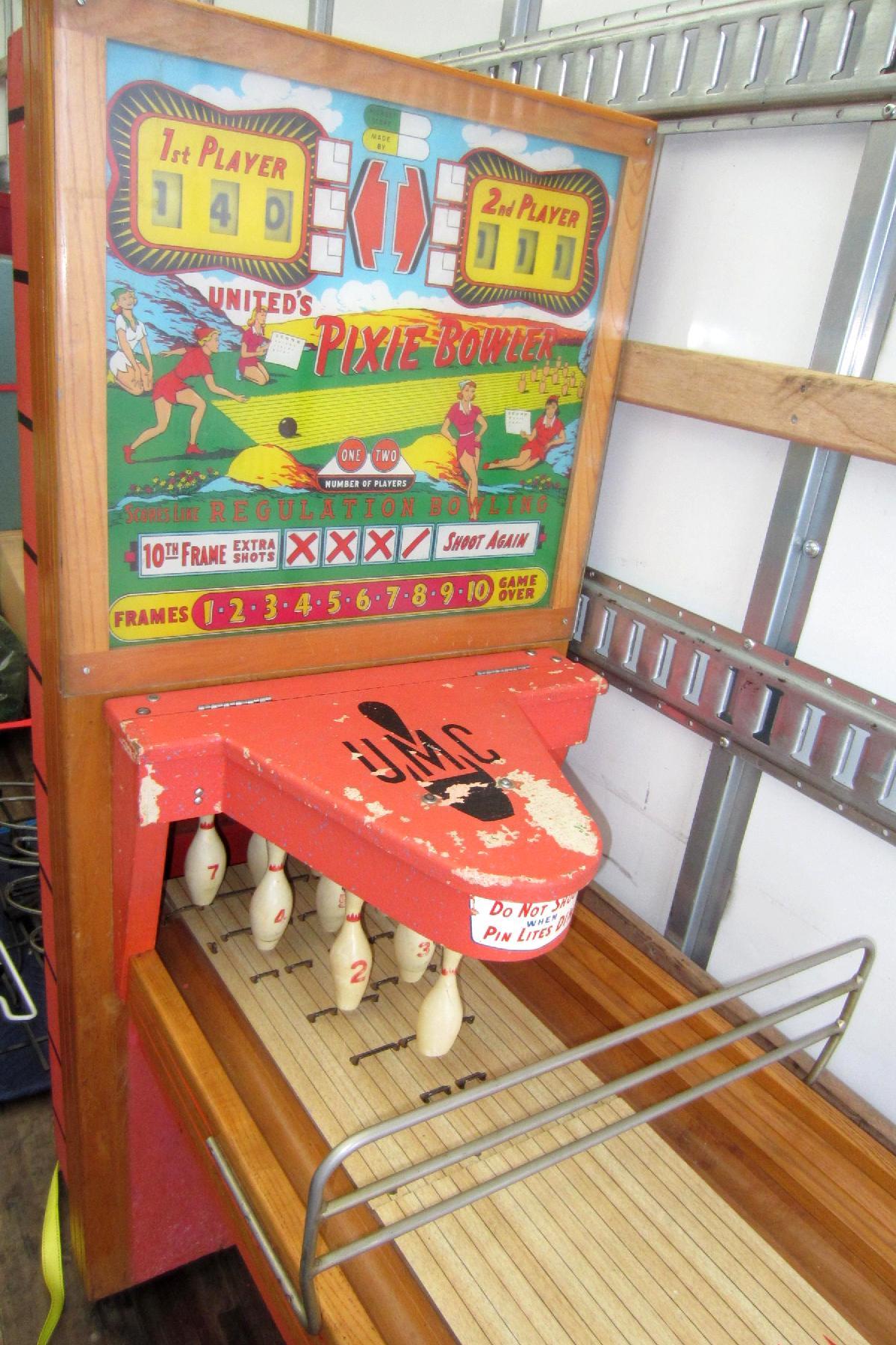 Pinball Cabinet Repair Golden Arrow Pinball By Gottlieb D