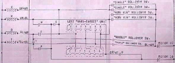 Old Pinball Wiring Schematics on pinball playfield, pinball disassembly, pinball artwork, pinball tables, pinball sketches, pinball illustrations, pinball dimensions, pinball company, pinball wiring, pinball plans, pinball parts, pinball books,