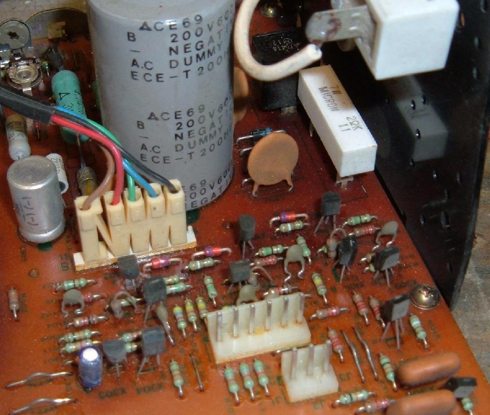 electrohome g07 monitor video game repair cap job rh pinrepair com Light Switch Wiring Diagram Wiring Diagram Symbols