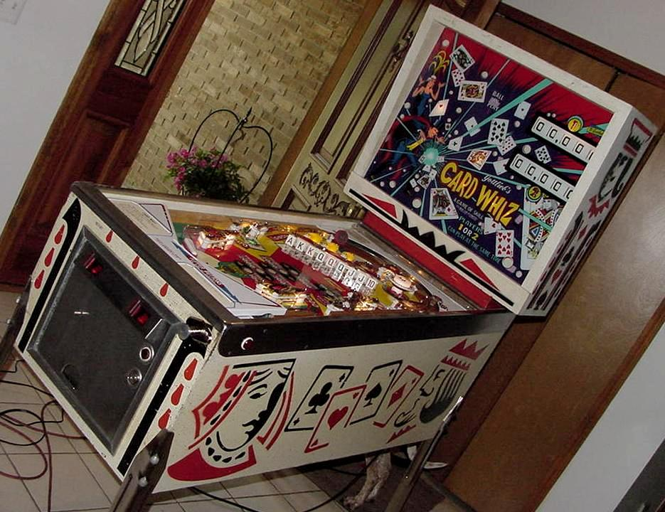 Pop Machine For Sale >> Gottlieb Card Whiz Gottlieb Card Wiz pinball machine 1976 ...
