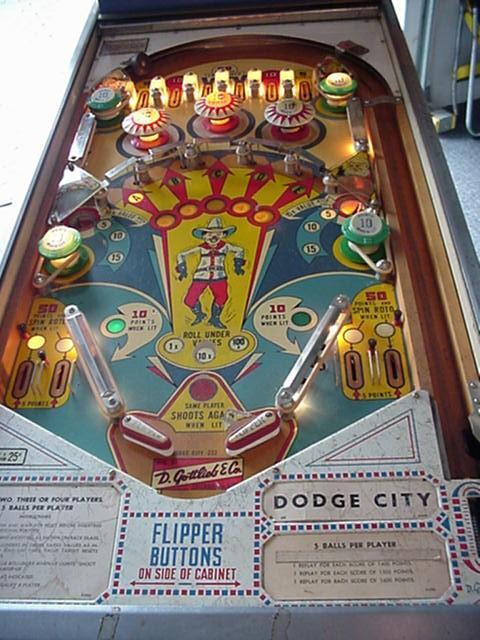 gottlieb pinball history evolution     collector buying