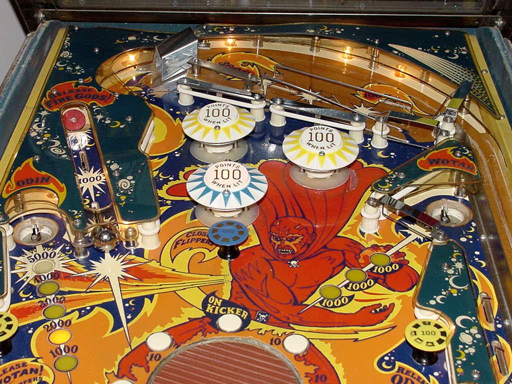 fireball pinball machine value