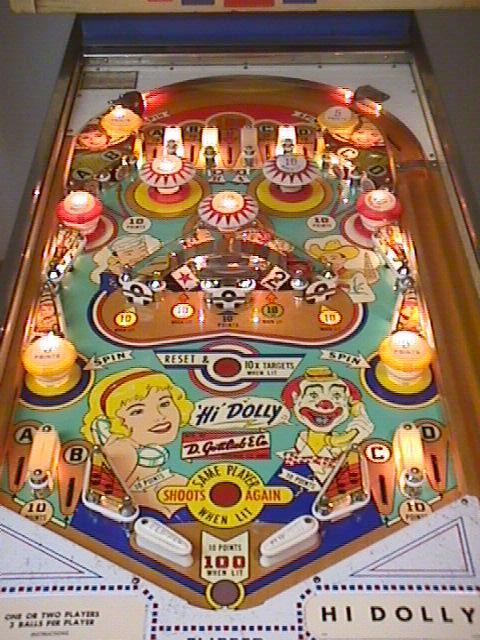 Gottlieb Pinball History, Evolution from 1947 to 1979 ...