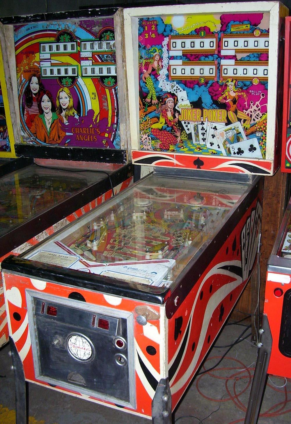 repair pinball machine