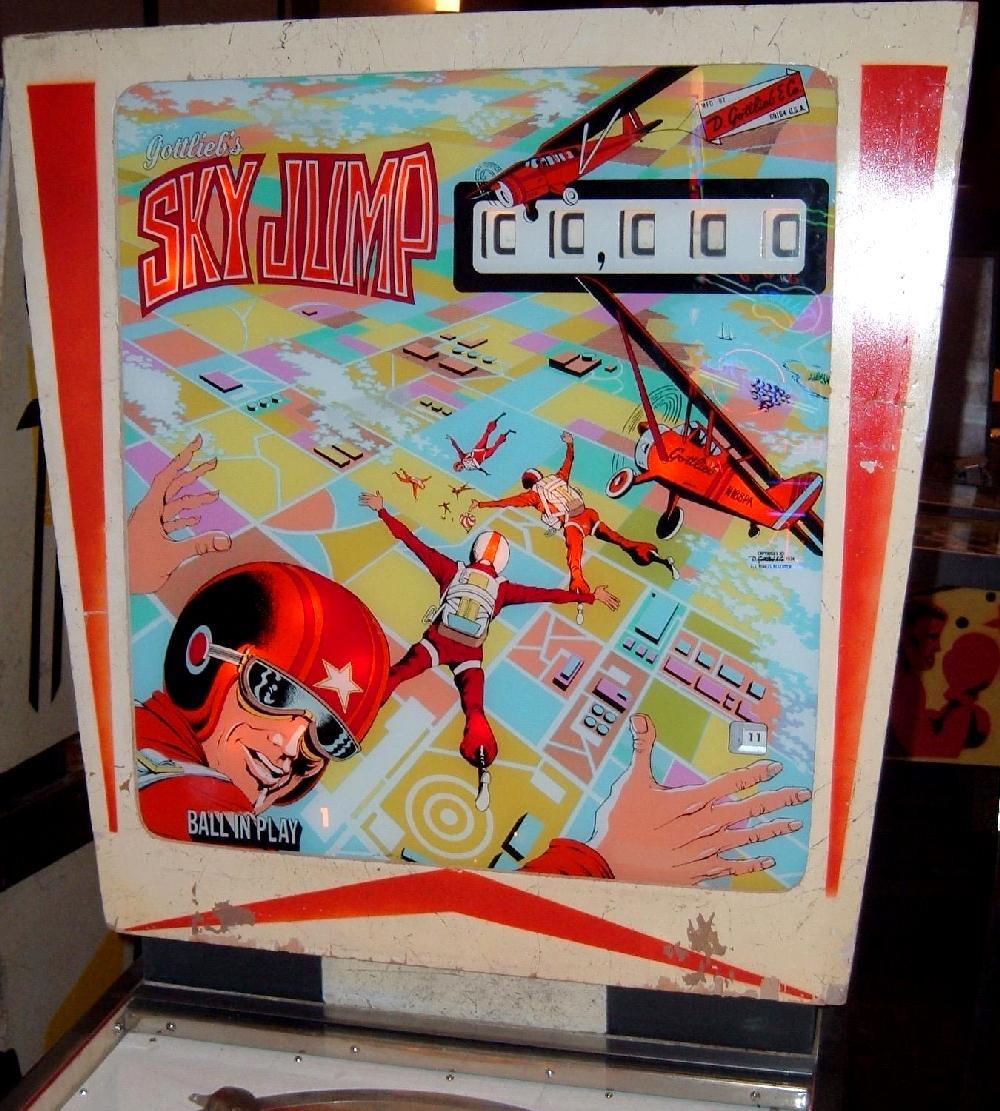 Gottlieb Sky Jump Pinball Machine 1974 Collector Buying