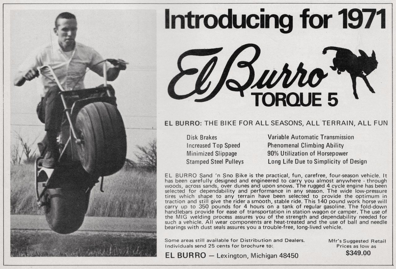 Mini Bike Minibike Advertising Rupp Ruttman Fox Honda Lil Indian 1970 Ct70 Brochures Elburro Sandsno Ad2