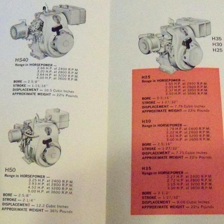 2 tecumseh engine flywheel key new old stock part# 610961