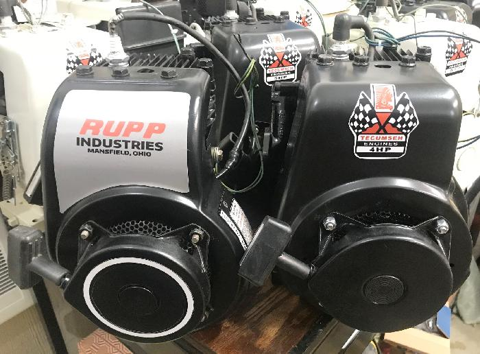 Tecumseh Engine Rebuild for Mini Bikes, Conversion from Snow