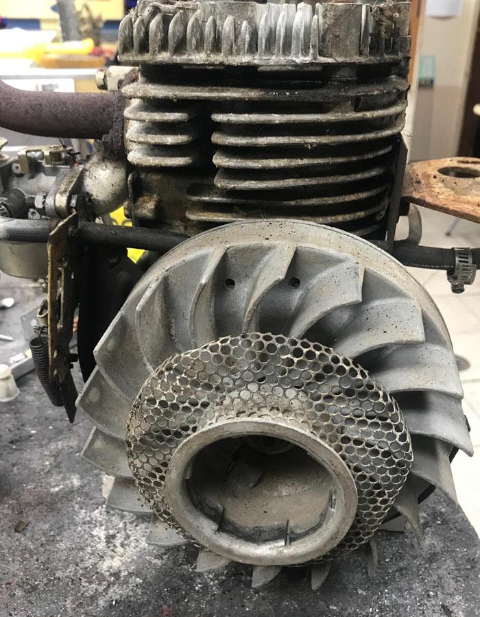 Tecumseh Engine Rebuild for Mini Bikes, Conversion from Snow