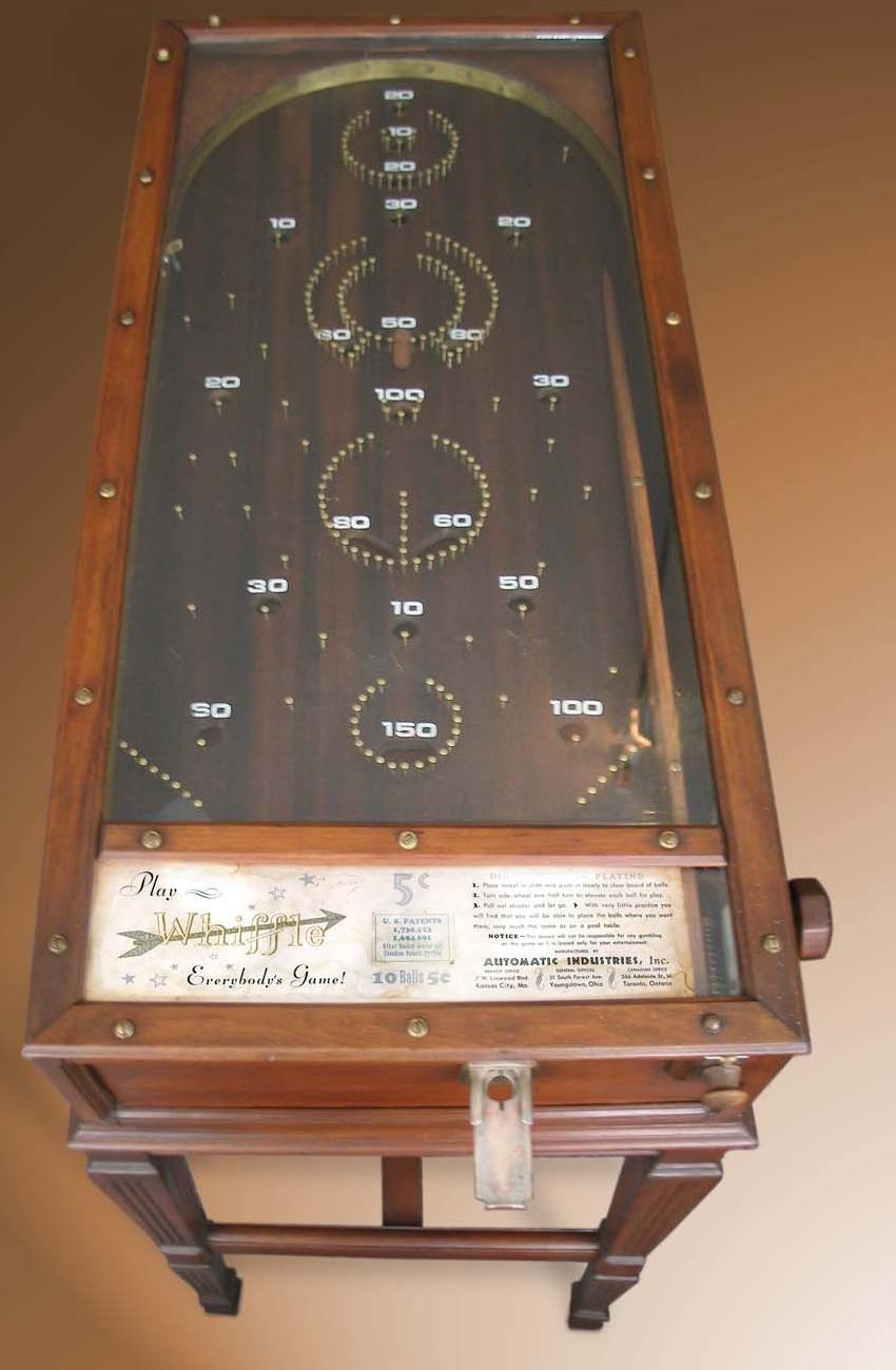 PINBALL: Pre-war prewar pinball, pinball 1932 to 1937 before WW2