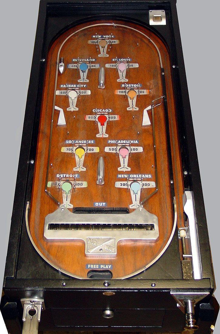 1933 bally airway pinball fully mechanical  pre