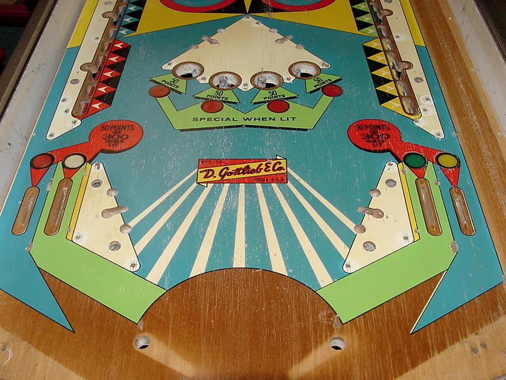 Pinball Playfield Touch Up Paint