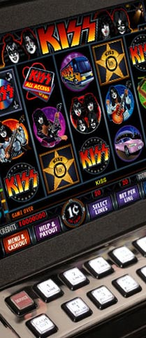 Kiss slot machine for sale reduction casino barriere