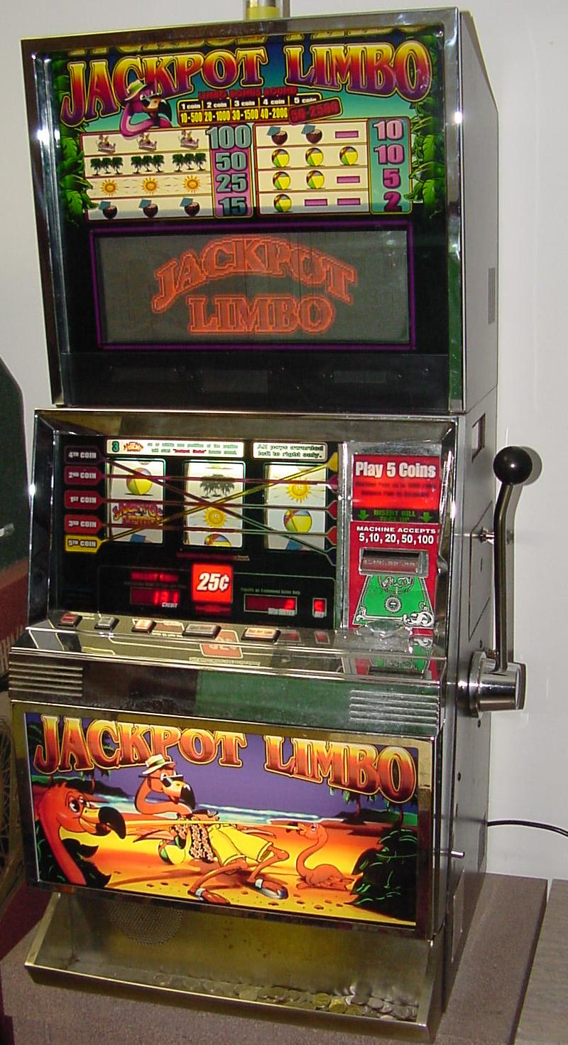 Registrazione ricavi da slot machine