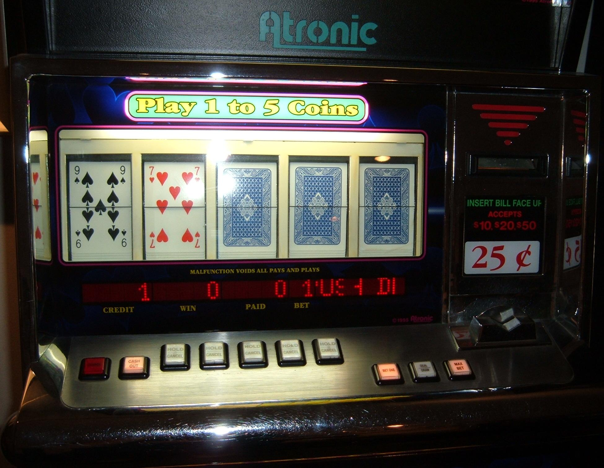 1995 Atronic Slot Machines