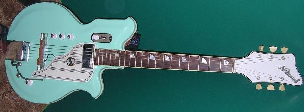 serial numbers Vintage national guitars