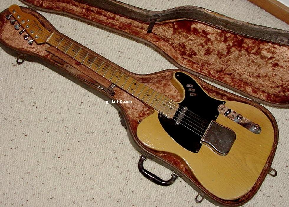 1951 fender telecaster nocaster guitar 51 fender tele guitar collector info vintage pre cbs