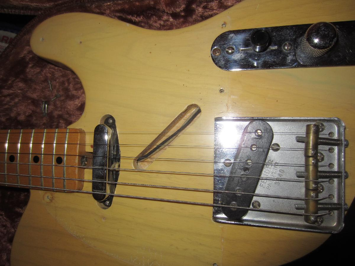 1952 Fender Telecaster 1953 Tele Guitar 52 53 Reissue Wiring Diagram Email The Collector Cfhprovidenet Go To Main Vintage Info Webpage