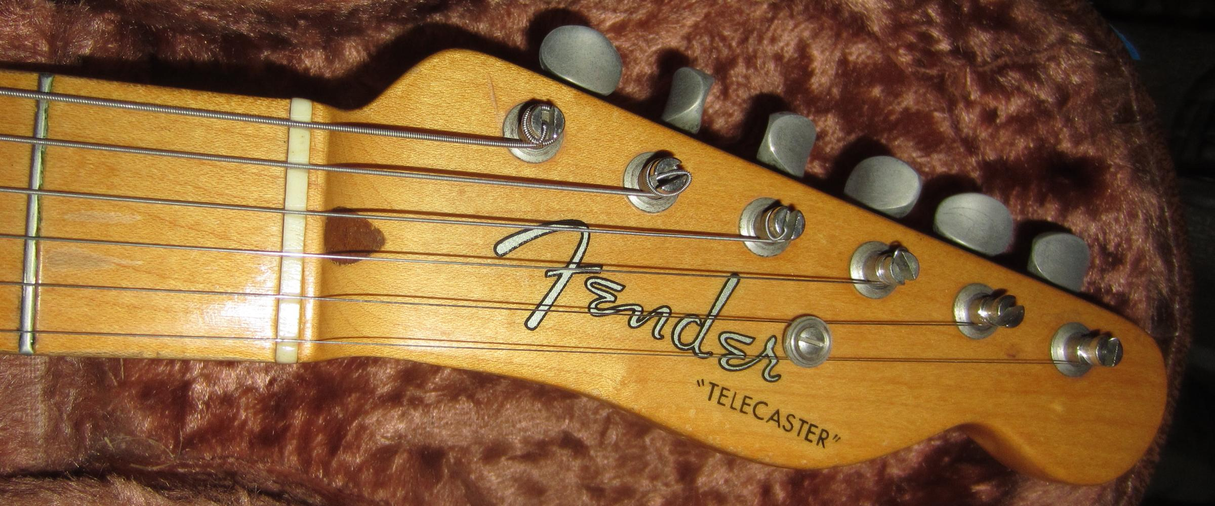 1952 Fender Telecaster 1953 Tele Guitar 52 53 Wiring Without Capacitor Collector Vintage