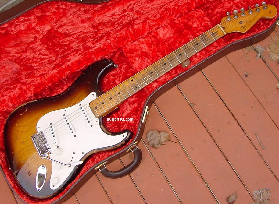1954 Fender Stratocaster guitar 54 Fender Strat guitar ... on