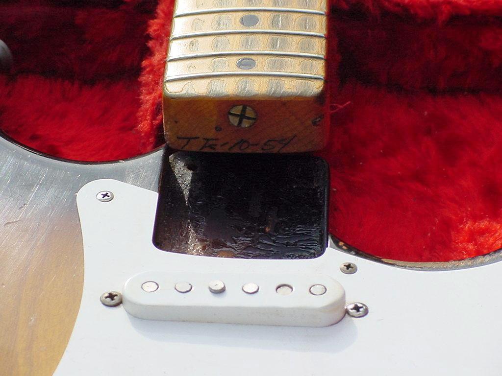 1954 Fender Stratocaster Guitar 54 Strat Collector Wiring Diagram Info Vintage Pre Cbs