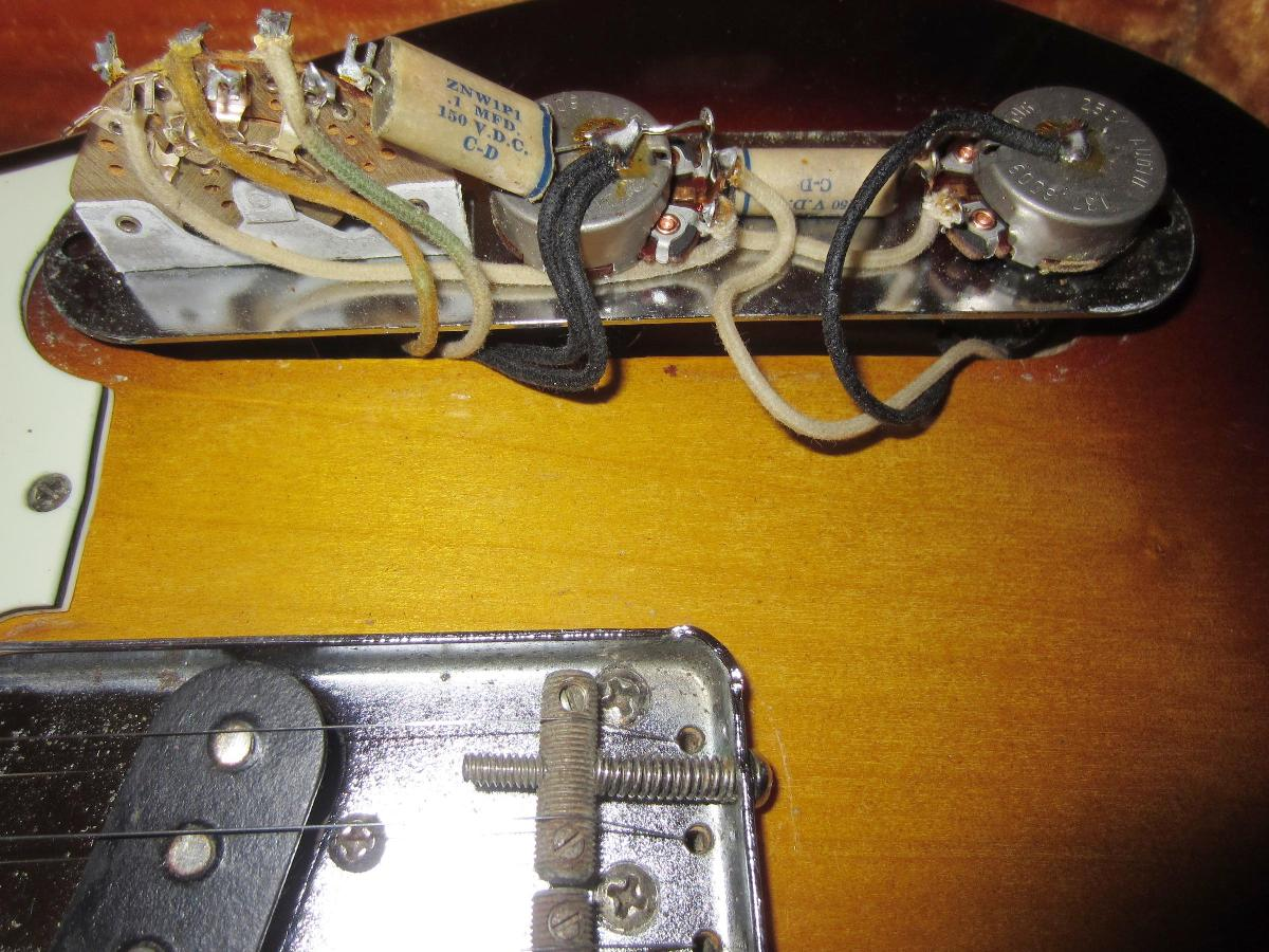 60s Fender Telecaster Wiring Free Download Esquire Harness 1959 Guitar 1960 Tele Custom 59 60 At